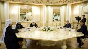 Incontro con il presidente del Senato del Kazakistan