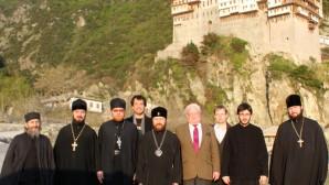 Concluso il pellegrinaggio al monte Athos
