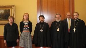 Μητροπολίτης Ιλαρίωνας επισκέφθηκε την Κρατικό Γραμματέα του Υπουργείου Εξωτερικών της Γερμανίας