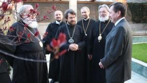 Ολοκληρώθηκε η επίσκεψη εργασίας του Μητροπολίτου Βολοκολάμσκ Ιλαρίωνος στη Γερμανία