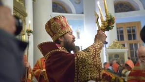 Mητροπολίτης Βολοκολἀμσκ Ιλαρίωνας προεξήρχε της Αναστάσιμης Θείας Λειτουργίας