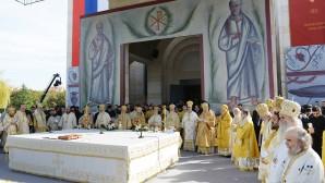 Primados de las Iglesias Ortodoxas Locales celebraron la Divina Liturgia  en la ciudad natal de San Constantino el Grande Igual a los Apóstoles