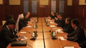 Incontro con il presidente del parlamento ungherese