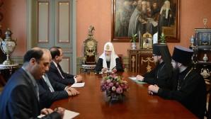 Le Patriarche Cyrille a rencontré l'ambassadeur de Syrie en Russie