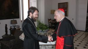 Presidente del Departamento de Relaciones Exteriores Eclesiásticas  se reunió con el Arzobispo de Madrid