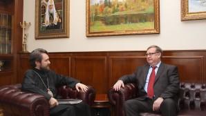 Incontro con il presidente della Società di Palestina