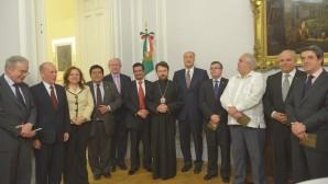 Recepción en honor del Metropolitano Hilarión se celebró en la residencia  del Embajador de México en Rusia