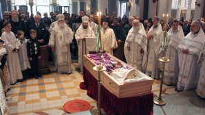 Esequie dell'arcivescovo Longin