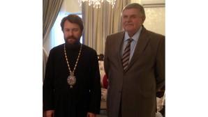 Incontro del metropolita Hilarion con l'ambasciatore russo in Giordania