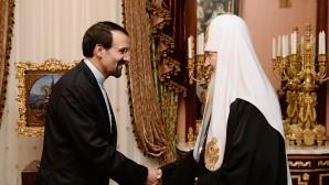 Incontro del Patriarca con l'ambasciatore dell'Iran