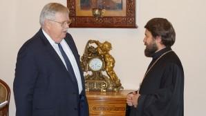 Incontro con l'ambasciatore degli USA