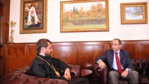 Visita dell'ambasciatore bulgaro
