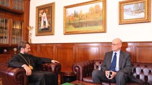 Incontro con l'ambasciatore slovacco