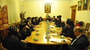 Il Presidente del Decr incontra il Patriarca copto
