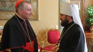 Incontro del metropolita col Segretario di Stato della Santa Sede