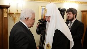 Il Patriarca incontra Mahmoud Abbas