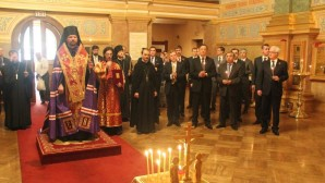 Servizio di preghiera a New York con i diplomatici Onu