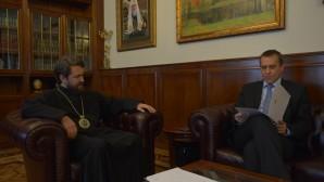 Incontro con l'ambasciatore sloveno