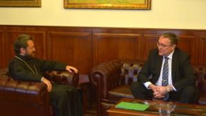 Metropolita Hilarión se reunió con el recién nombrado embajador  de Rusia en Austria