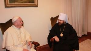 Il metropolita dal Papa