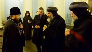 Incontro con delegazione della Chiesa copta