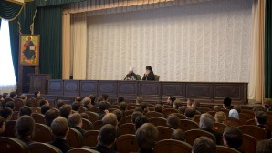 Chairman of the Department for External Church Relations delivers lecture at the Moscow Theological Academy