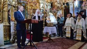 Incontro tra il Patriarca e il Presidente