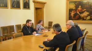 Vicepresidente del DREE se reunió con el Consejero para Asuntos Religiosos del Ministro de Relaciones Exteriores de Francia