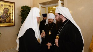 Incontro con il metropolita Rostislav