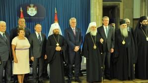 Visita del metropolita in Serbia