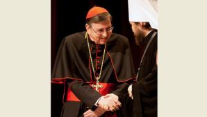 Il metropolita incontra il card. Koch