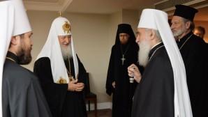 Incontro con il Patriarca di Serbia