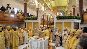 Consacrazione della cattedrale russa a Londra