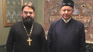 Le secrétaire du DREE aux relations interreligieuses a rencontré le mufti de Moscou, de la région centrale et de Tchouvachie, A. Krganov
