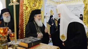 Incontro con il Patriarca di Gerusalemme