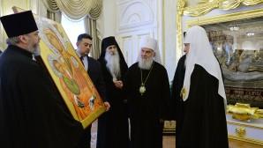 Incontro con il Patriarca serbo