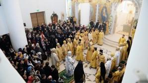 Consacrata la cattedrale della Trinità