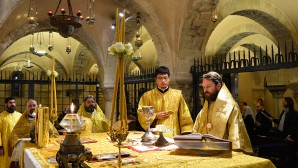Divina liturgia a Bari
