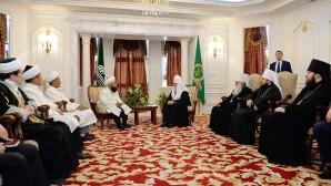 Le primat de l'Église russe a rencontré le grand mufti de la République de Kirghizie