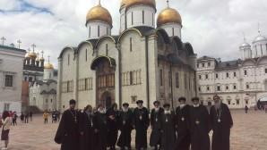 Fin de la visite de la délégation de moines coptes