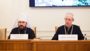 Archbishop of Canterbury visits Ss. Cyril and Methodius Theological Institute of Postgraduate Studies