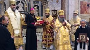 Il metropolita Hilarion a Bari