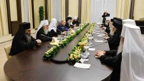 Putin incontra i Primati delle Chiese ortodosse