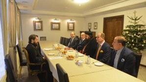 DECR chairman meets with delegation of Syrian Orthodox Church
