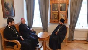 Il Presidente del DECR incontra il nunzio apostolico nella Federazione Russa