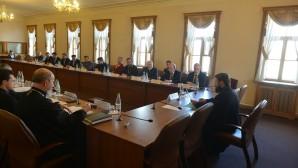 Μητροπολίτης Βολοκολάμσκ Ιλαρίωνας προήδρευσε της συνεδριάσεως της Επιτροπής Διεθνούς Συνεργασίας του Συμβουλίου Συνεργασίας με Θρησκευτικά Σωματεία παρά τον Πρόεδρο της Ρωσίας