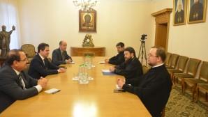 Συνάντηση του Προέδρου του ΤΕΕΣ με τον Υπουργό Τουρισμού της Συρίας
