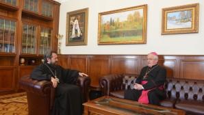 Il Presidente del Decr ha incontrato il Nunzio Apostolico nella Federazione Russa