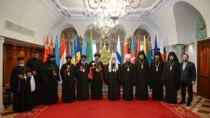 Un communiqué publié après la rencontre du patriarche Cyrille de Moscou et de toute la Russie avec le patriarche-catholicos d'Éthiopie Abuna Mathias
