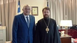 Συνάντηση του Προέδρου του ΤΕΕΣ με τον Υφυπουργό Εξωτερικών της Ελλάδος